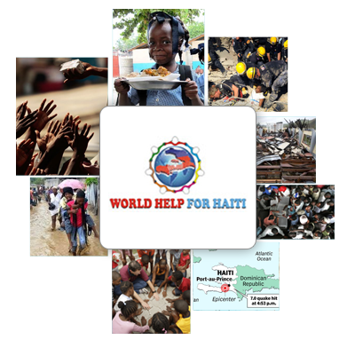 World help for Haiti