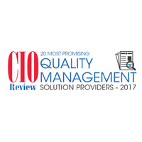 20 Most Promising Quality Management Solution Providers 2017